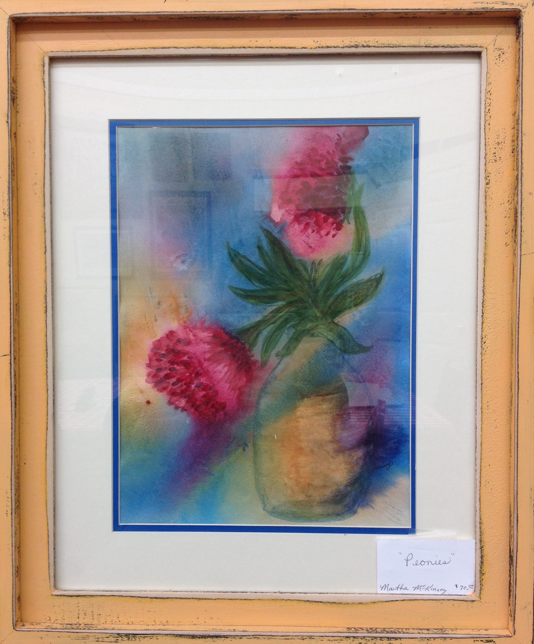Watercolor by Hickman County Arts & Crafts Guild member: Martha McKinney