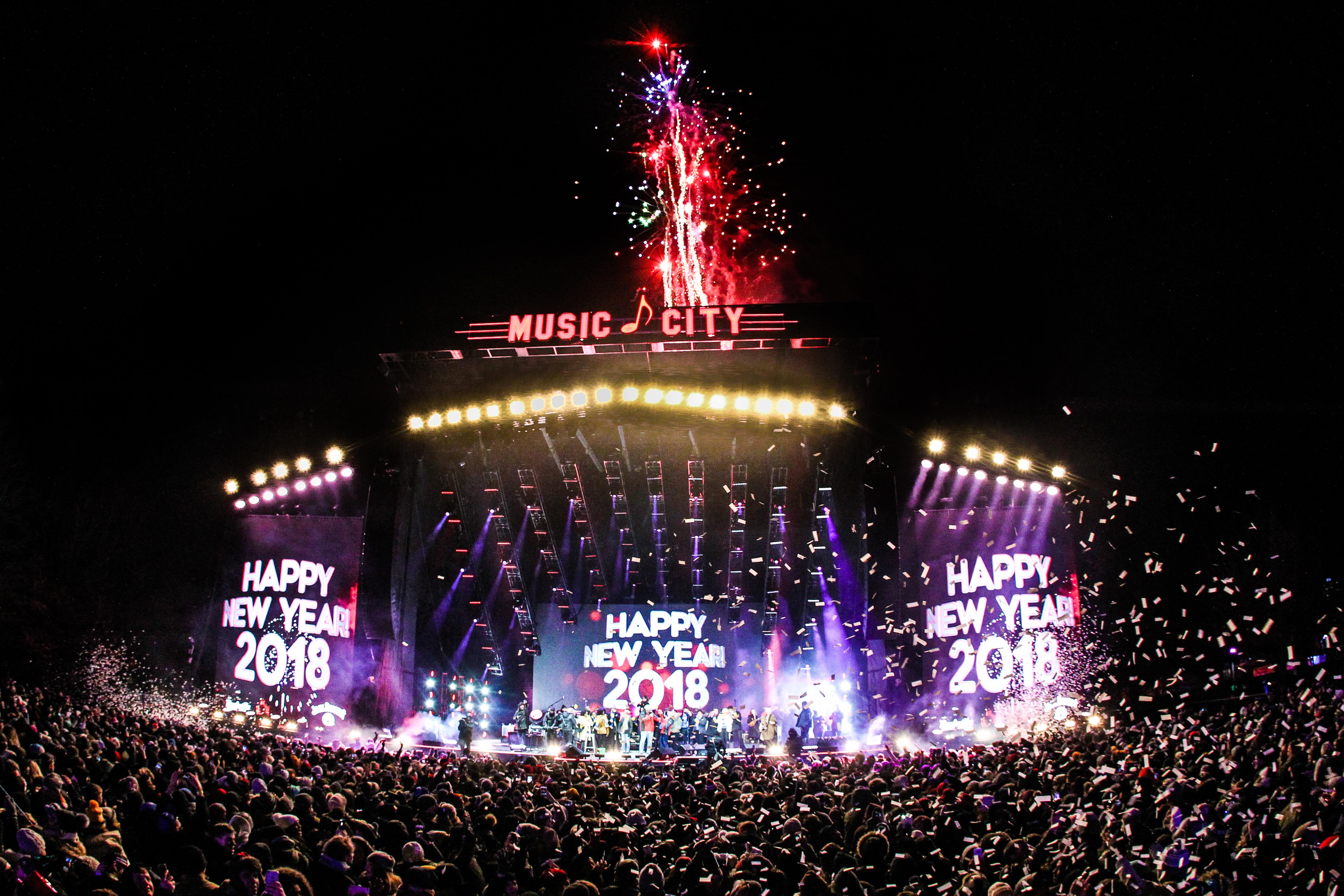 Jack Daniel' s Music City Midnight: New Year's Eve in Nashville in Nashville, TN - Tennessee ...