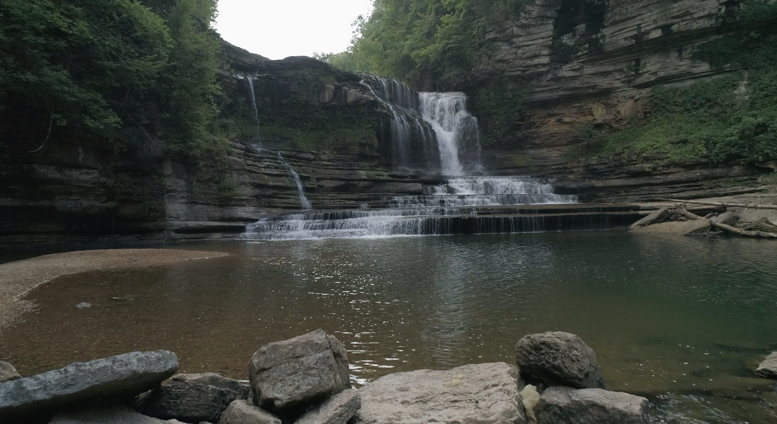 Cummins Falls State Park in Cookeville, TN - Tennessee Vacation