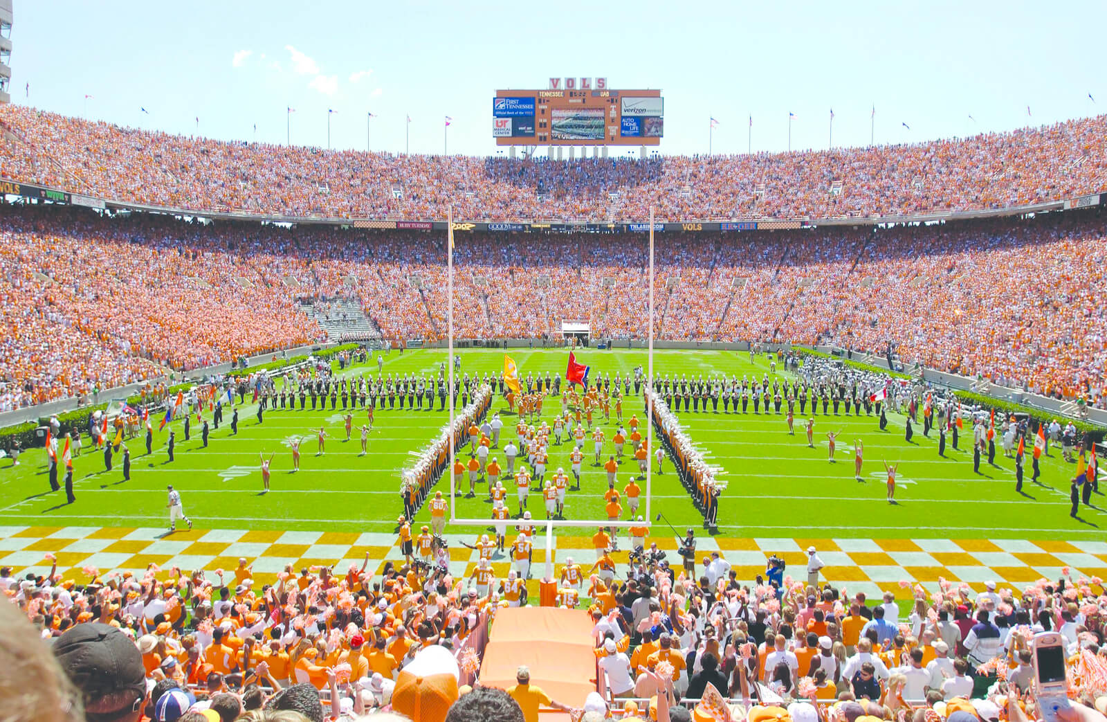 University of Tennessee Football in Knoxville, TN ...