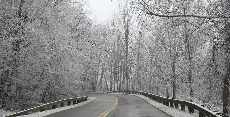 Winter in Great Smoky Mountains National Park