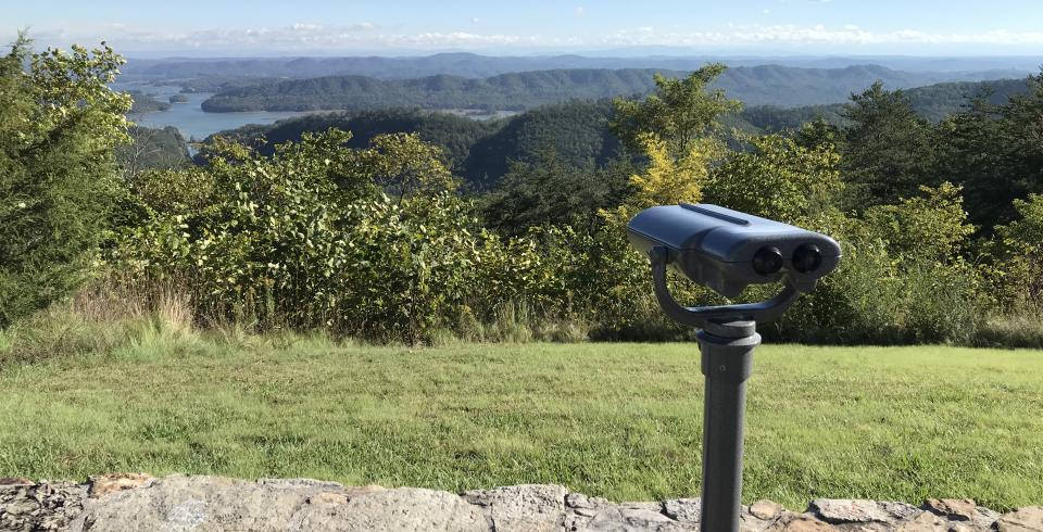Colorblind-less viewfinder at Veterans Overlook at Clinch Mountain