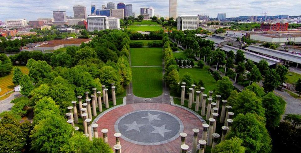 Walk the 19-acre Bicentennial Capitol Mall State Park in Nashville