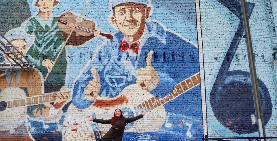 Birthplace of Country Music mural