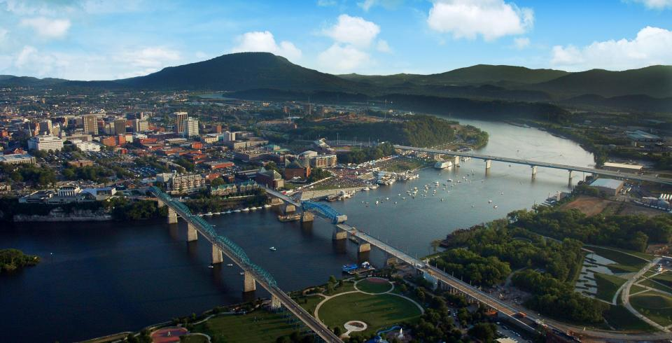 Chattanooga, site of Nightfall series