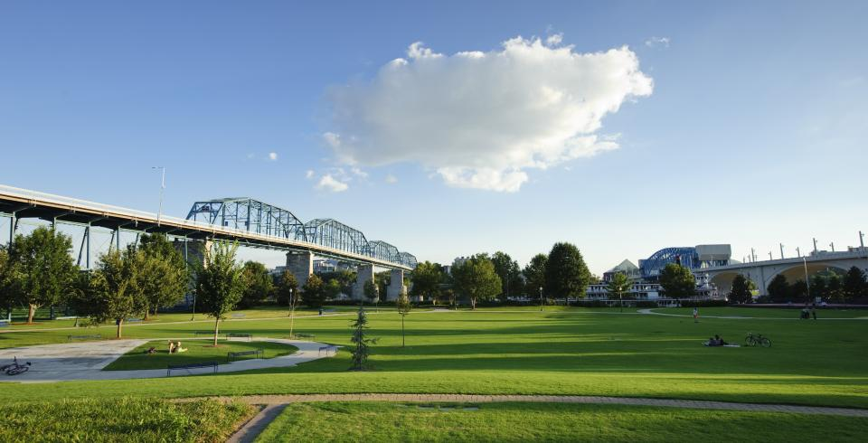 Coolidge Park in Chattanooga