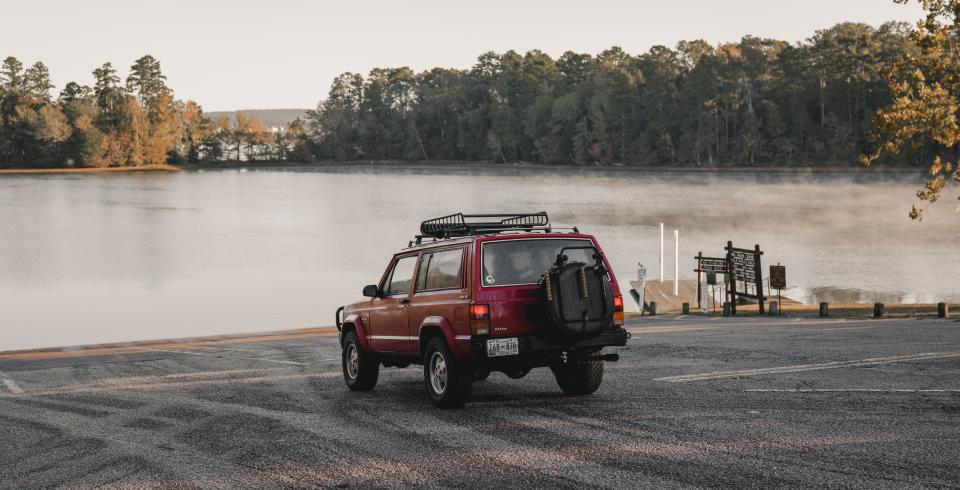 A jeep at Pickwick Landing State Park, Counce TN