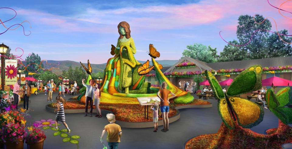 Dollywood's new Flower & Food Festival in Pigeon Forge