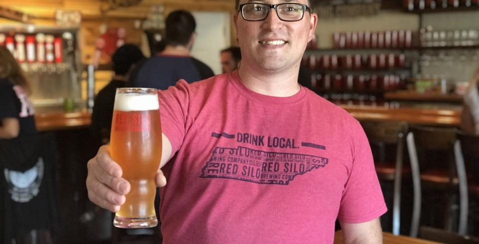 Elijah Thomen of Red Silo Brewing Company