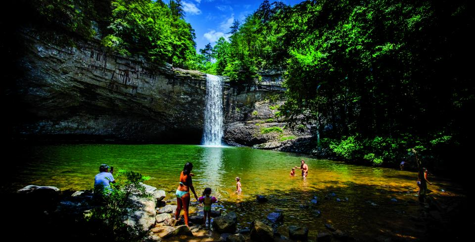 Foster Falls in Sequatchie