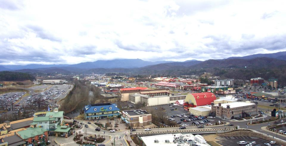 From the Great Smoky Mountain Wheel, Pigeon Forge