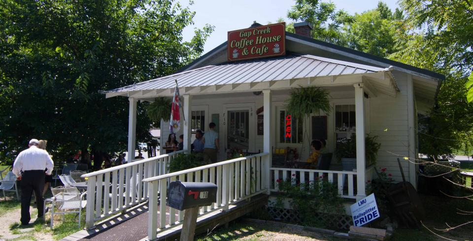 Gap Creek Coffee House in Cumberland Gap TN