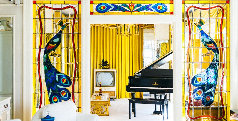 Inside Elvis Presley's Graceland in Memphis