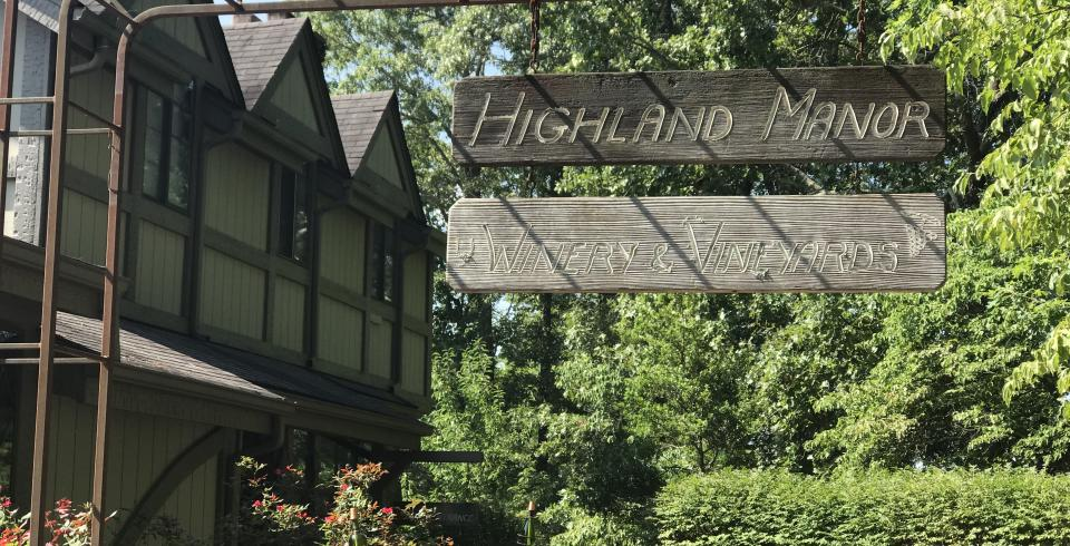 Highland Manor, Tennessee's oldest winery