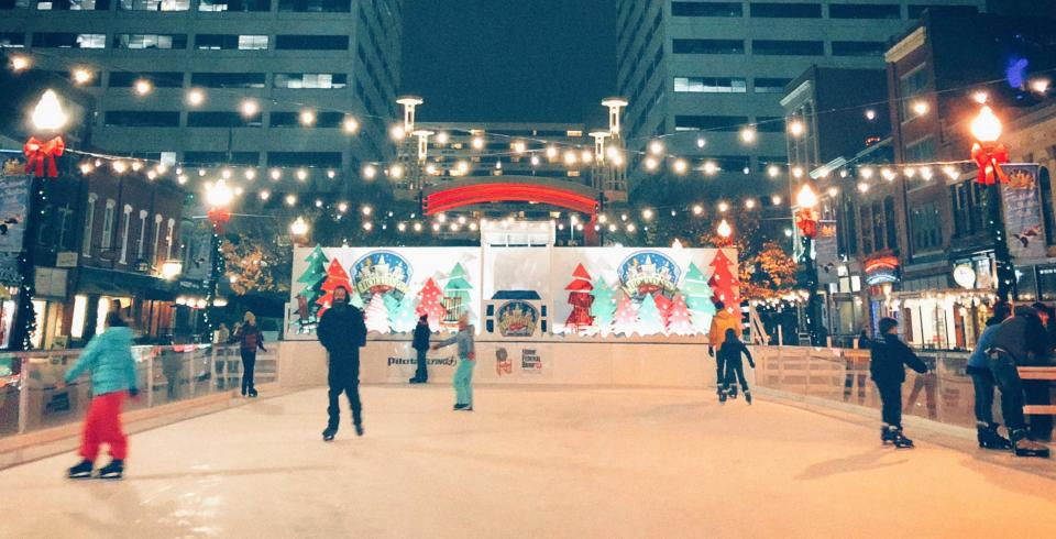 Holidays on Ice at Market Square in Knoxville