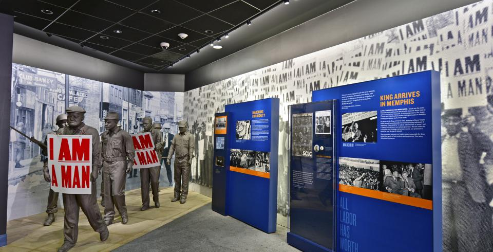 Immersive exhibitions at the National Civil Rights Museum