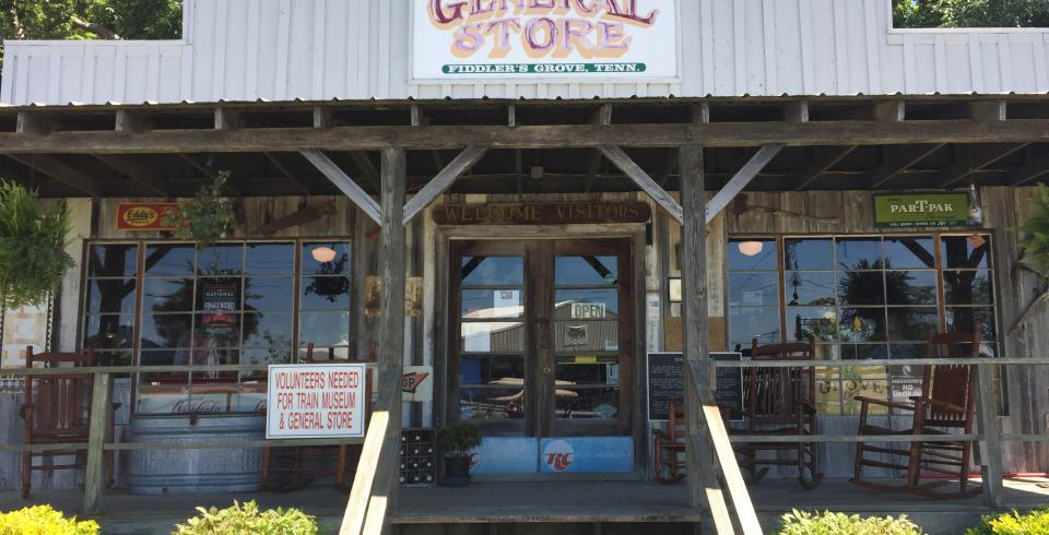 The General Store at Fiddlers Grove in Lebanon, Tennessee