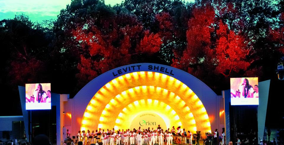Levitt Shell in Memphis