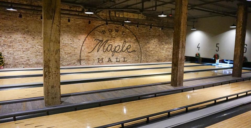 Maple Hall Bowling Alley in Knoxville TN