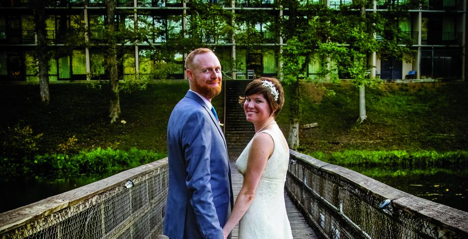 Wedding at Montgomery Bell State Park, Burns TN