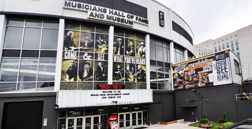 Musicians Hall of Fame in Nashville TN