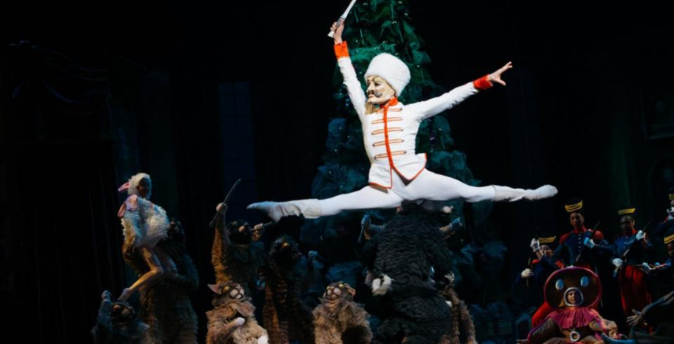 A performance of The Nutcracker by Ballet Memphis