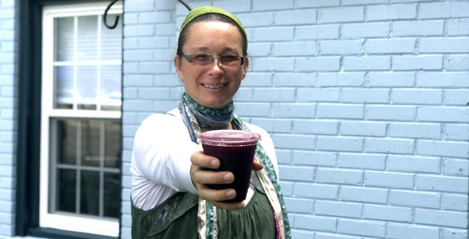 Rihanna Lizarraga of The Turn Around Juice Bar suggests trying  the Drop The Beet