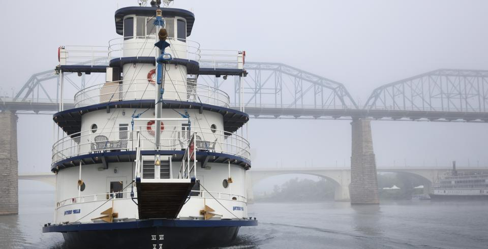 Southern Belle Riverboat in Chattanooga
