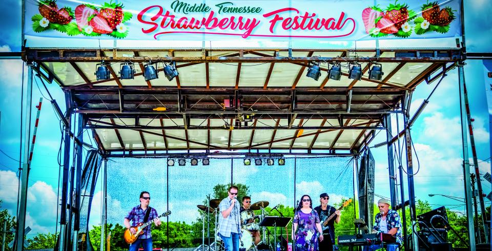 Strawberry Festival in Portland, Tennessee