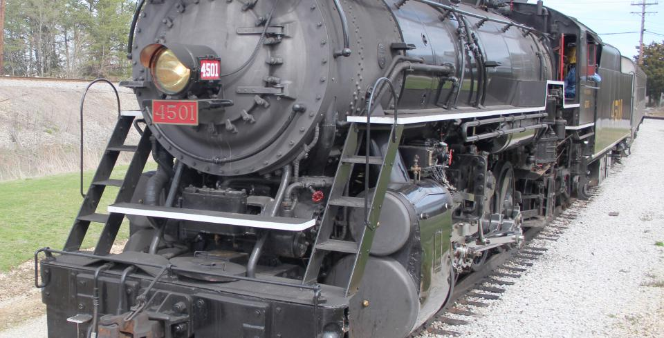 Tennessee Valley Railroad train ride