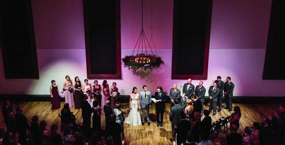 A wedding at The Bell Tower in Nashville