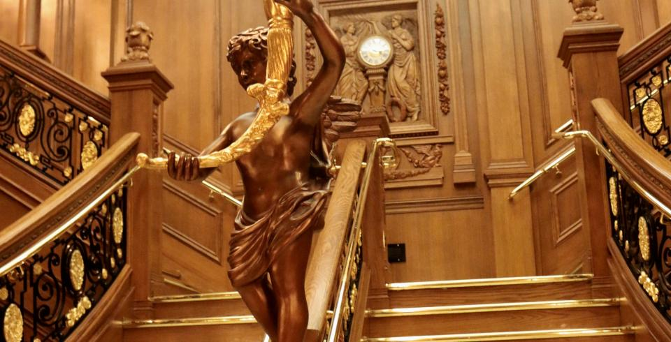 The Grand Staircase at the TITANIC Museum Attraction