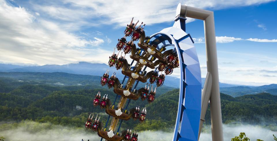Dollywood's Wild Eagle in Tennessee