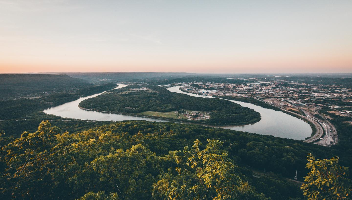 City Lights and Outdoor Adventure Collide in Chattanooga, Tennessee