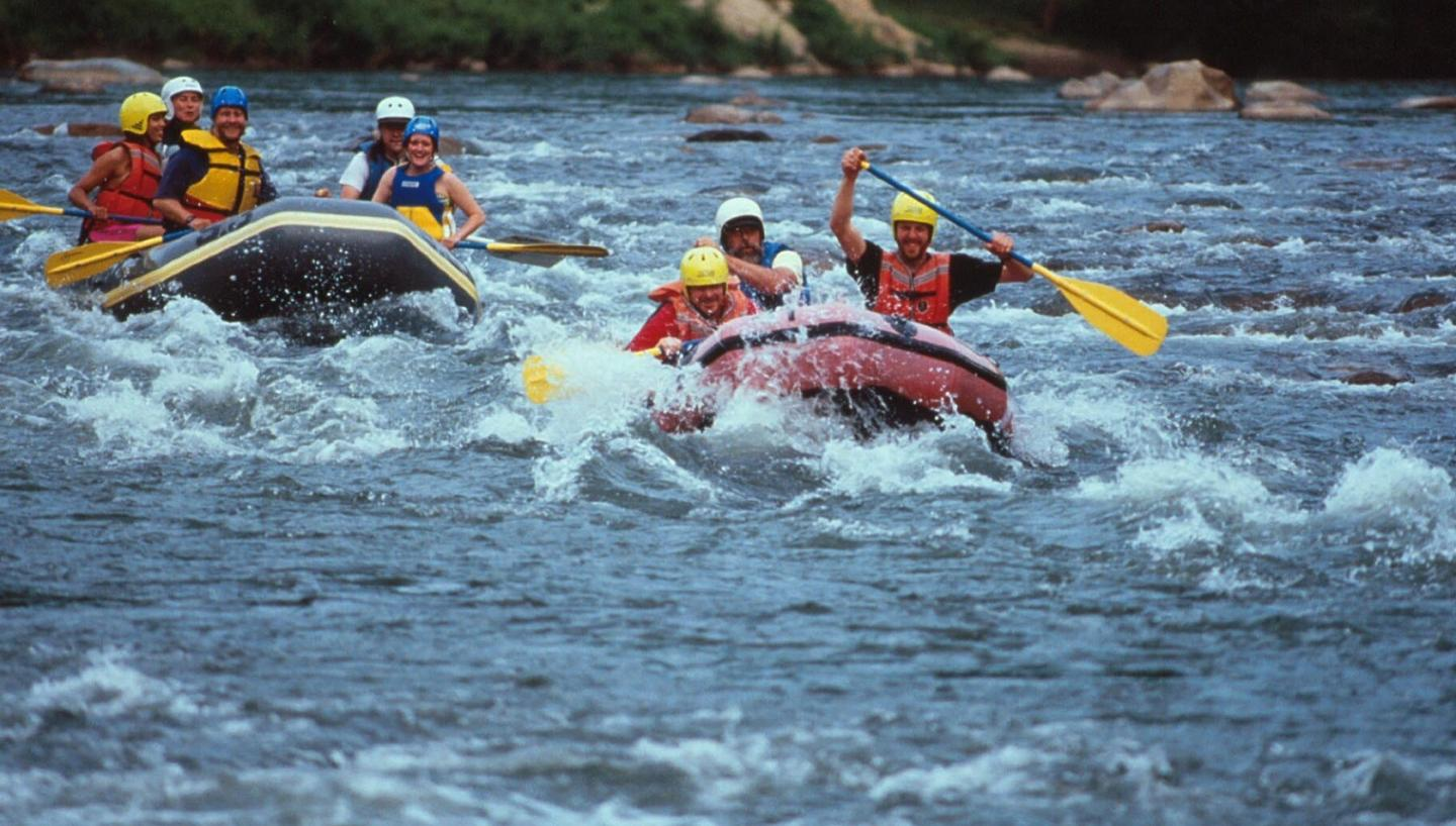 Beat the Summer Heat Rafting on Tennessee's Whitewater