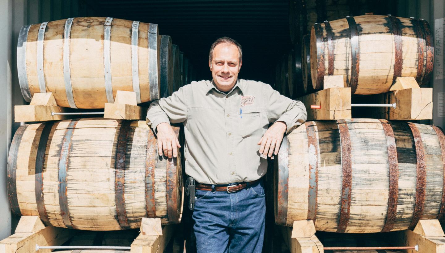 Clay, Founder of Tenn South Distillery
