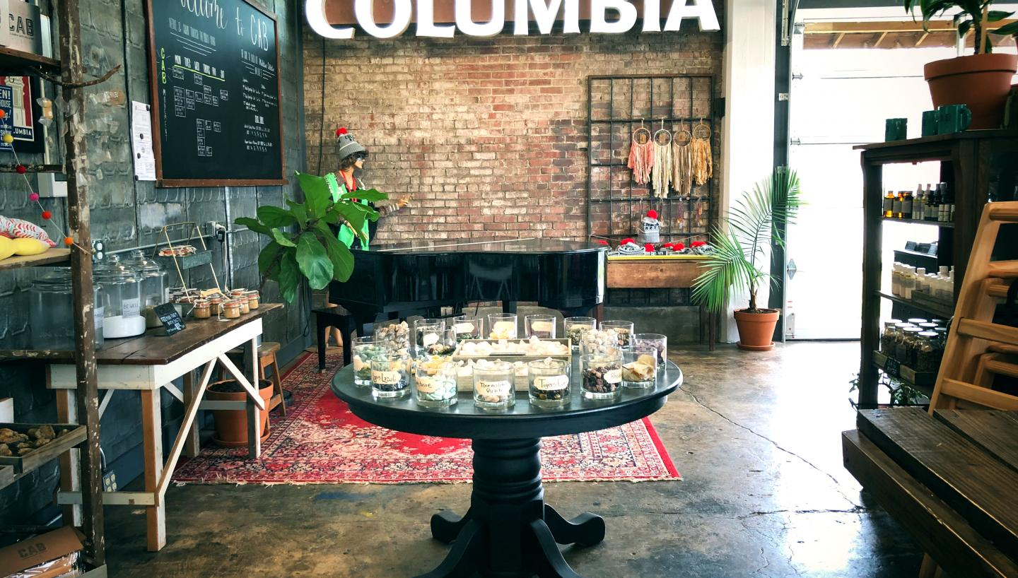 Columbia Arts Building Cafe