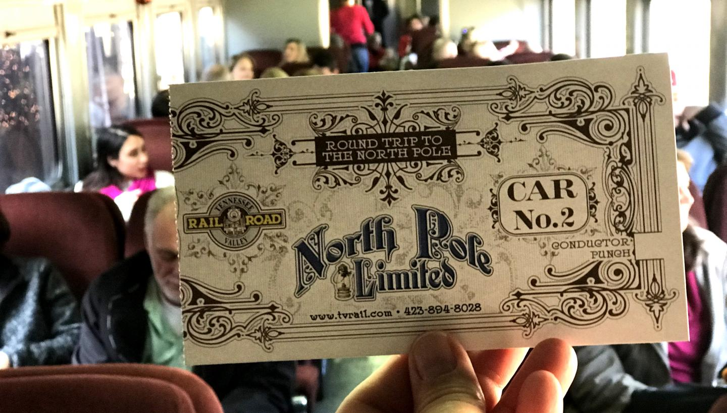 TN Valley Railroad Museum North Pole Limited