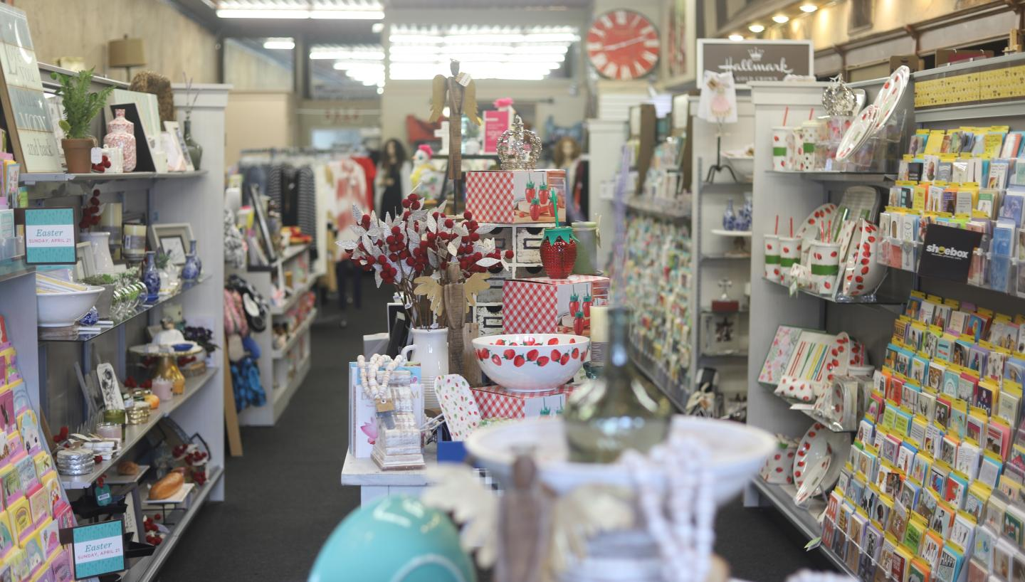 Cards and gifts at City Gift Company