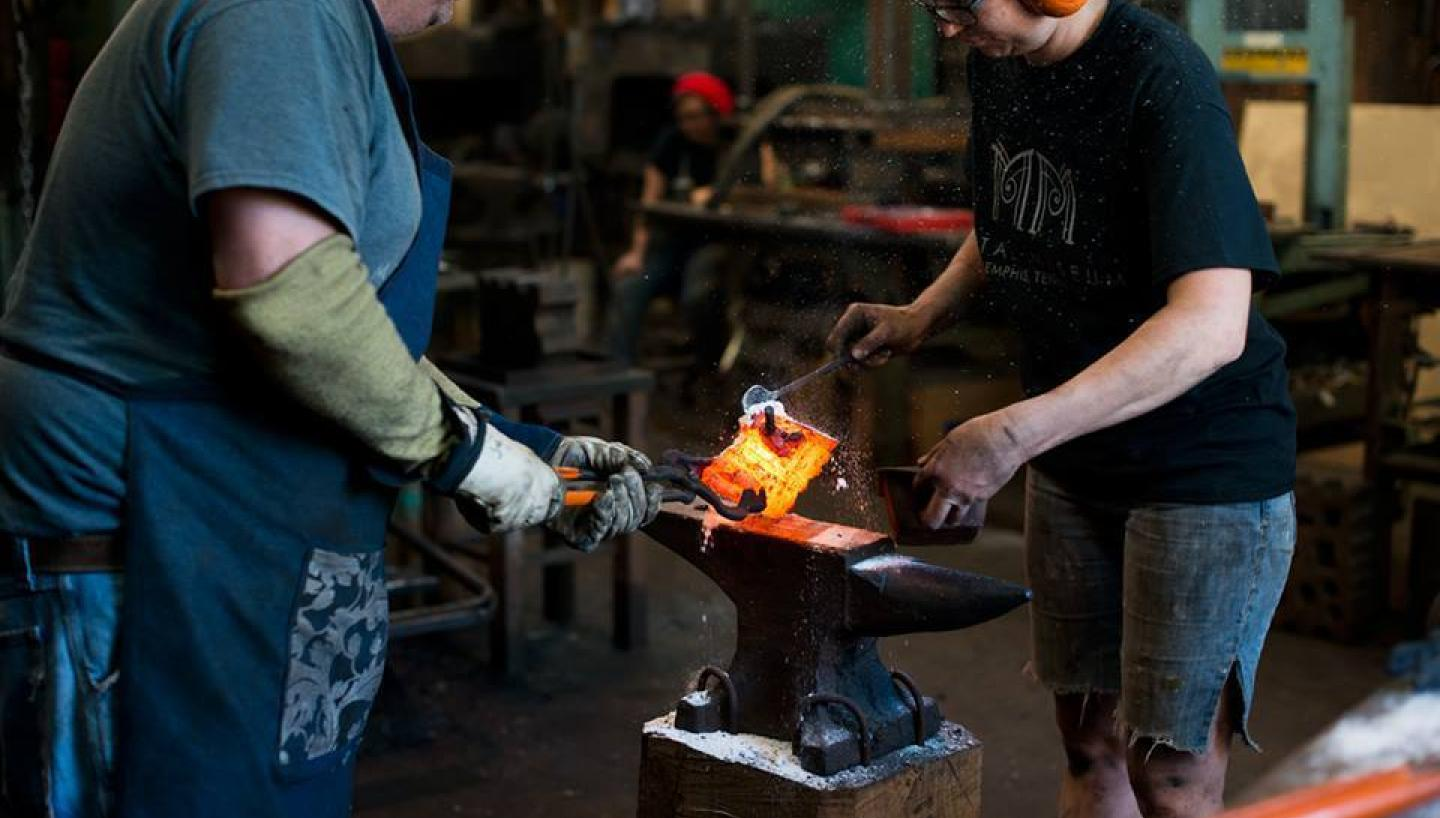 Create and Craft at the National Ornamental Metal Museum Forgery