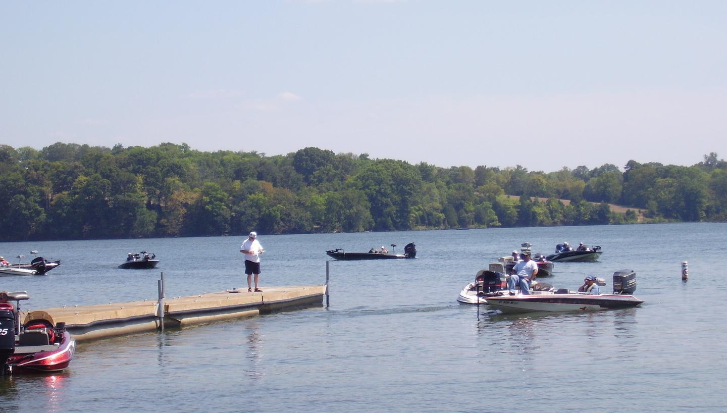 Old Hickory Dam and Cumberland Offer Good Fishing In September