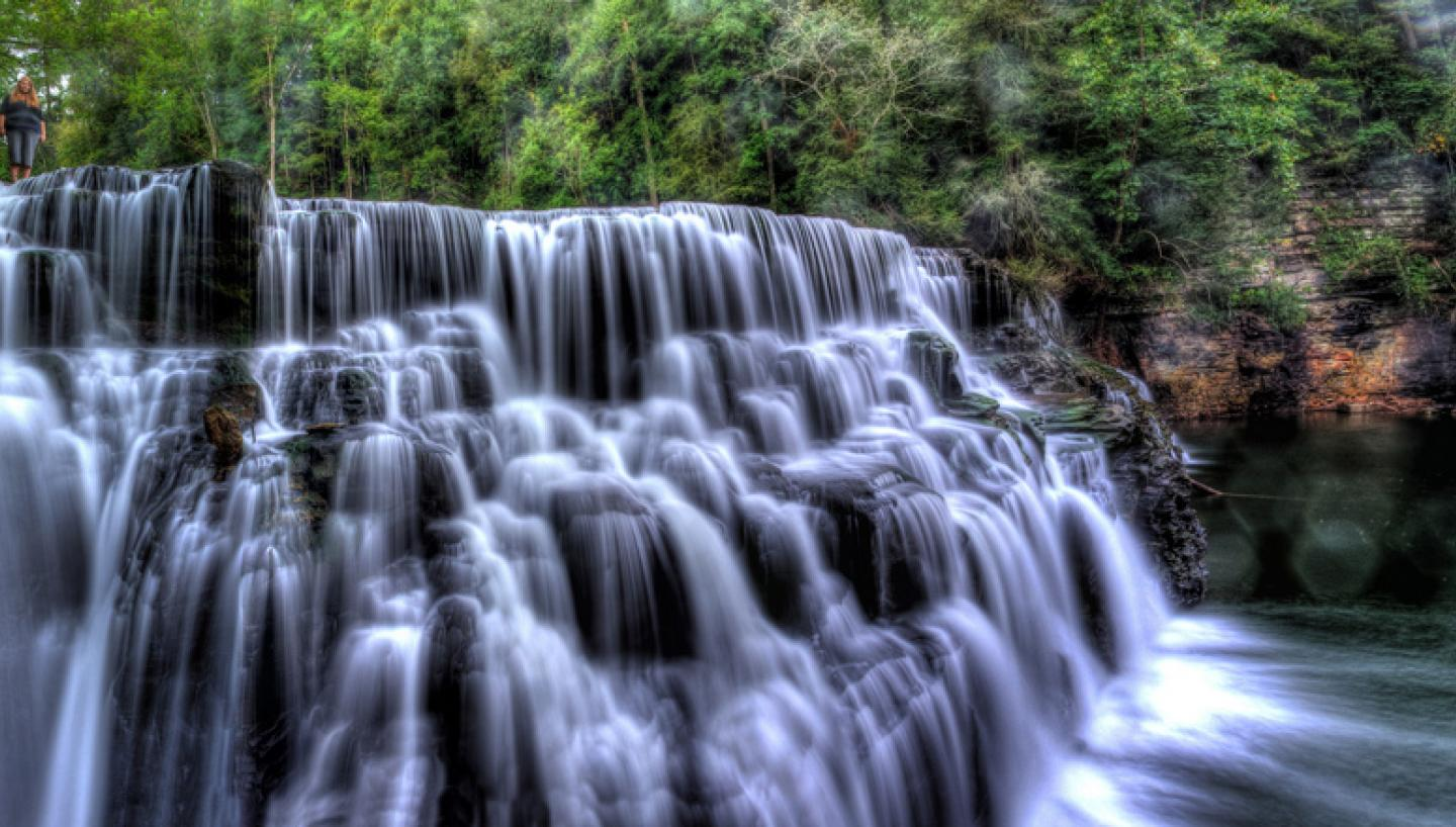 9 secret waterfalls in tennessee tennessee vacation