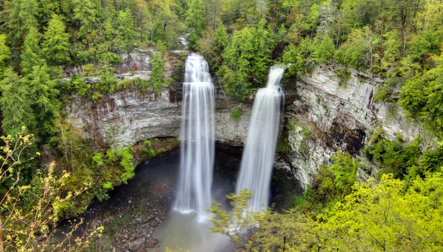 Some of the Best Waterfalls on Tennessee's Cumberland Plateau