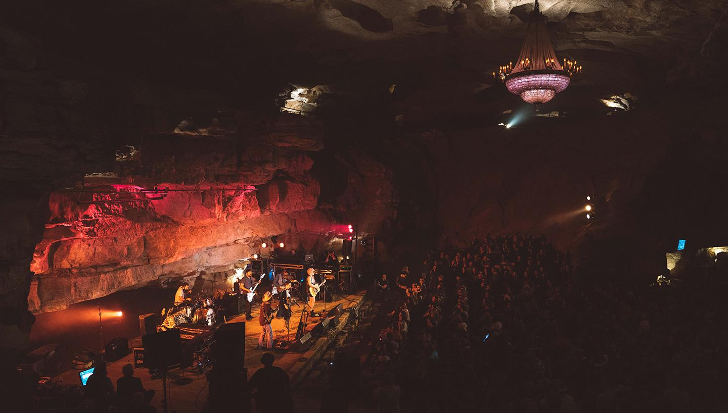 333 ft. underground concert with Jack White's Third Man Records