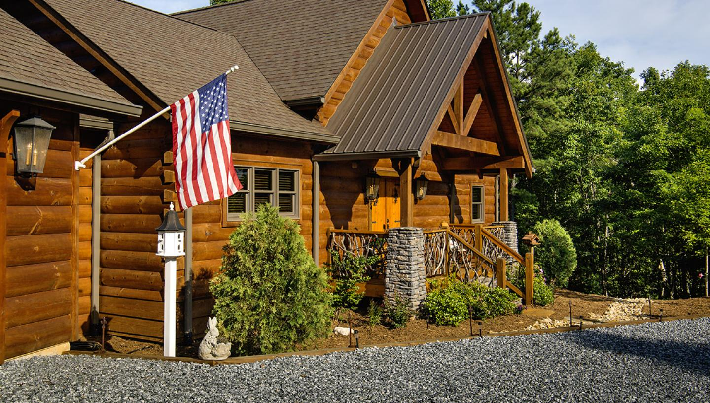 Honest Abe Log Homes Hosts Log Raising In Celina Tn Tennessee Vacation
