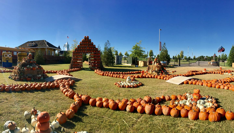 McDonald's Pumpkin Village