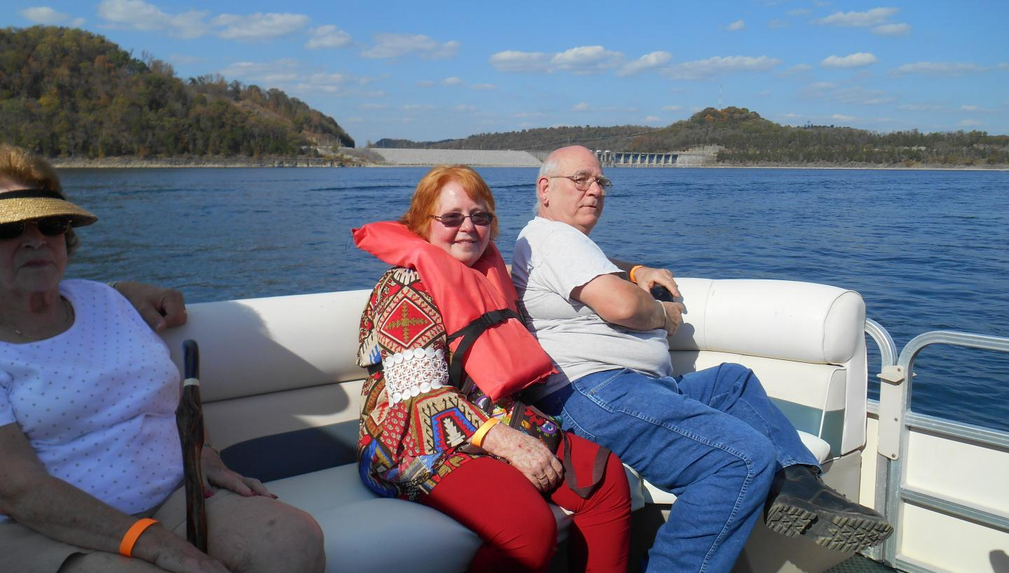 Fall Color Boat Cruise on Center Hill Lake by Friends of Edgar Evins State Park