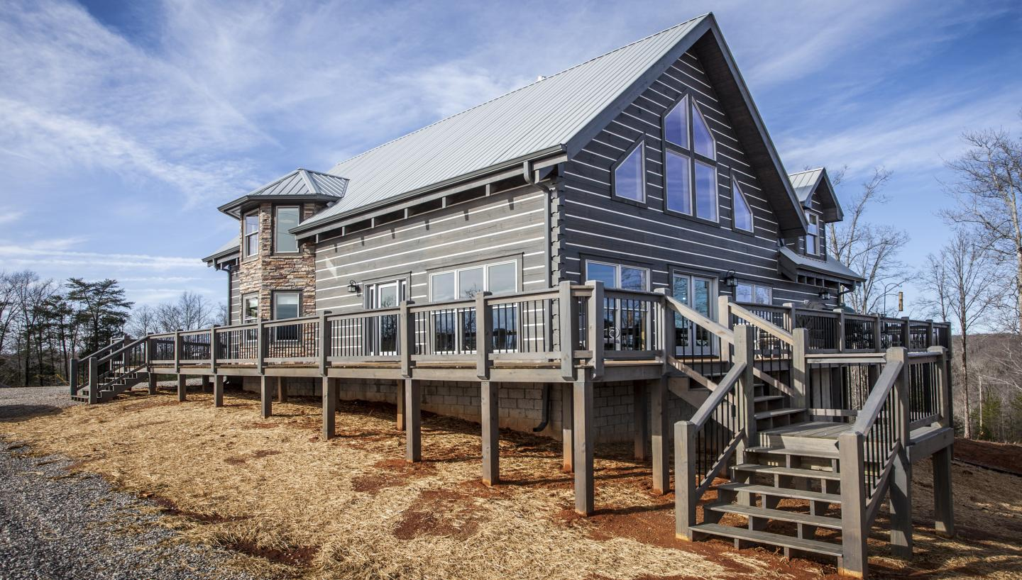 Honest Abe Log Home Log Raising and Manufacturing Tour March 24