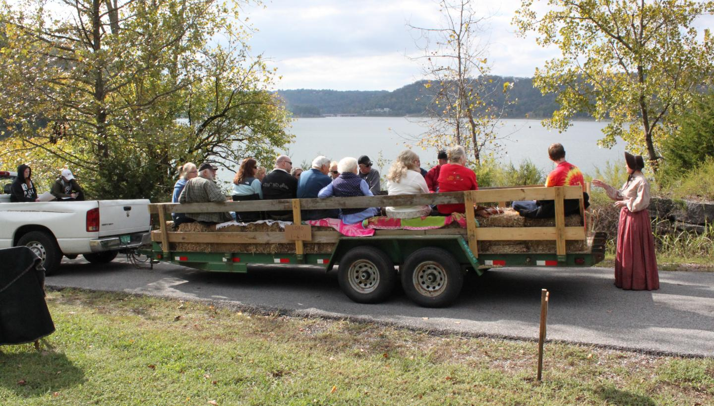 12th Annual History Hayride by Friends of Edgar Evins State Park