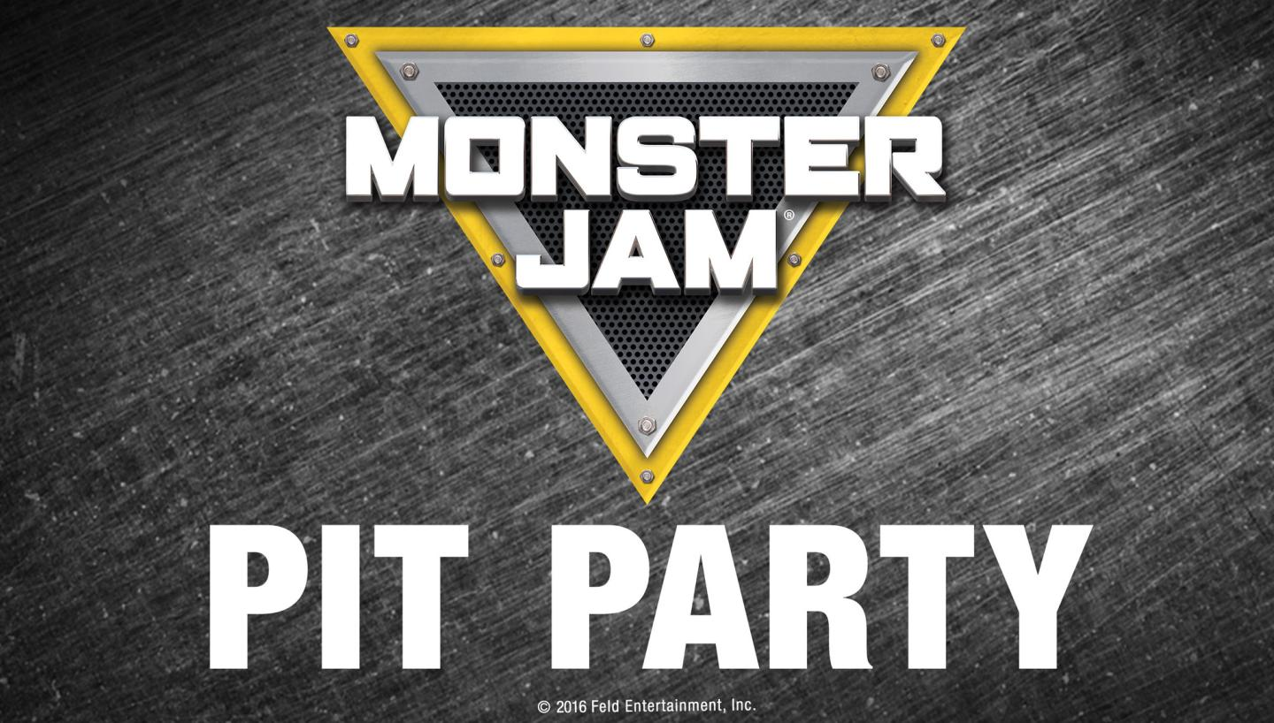 Monster Jam Pit Pass: Preshow Pit Party From 10:30am - 12:00pm